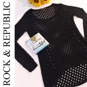 Rock and Republic long sleeve sweater